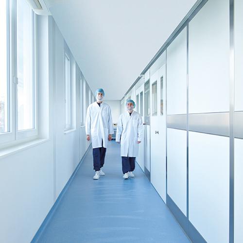 Labor Dr.Merk Reinraum